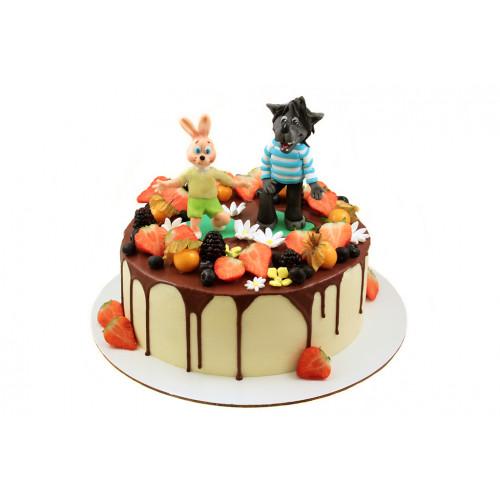 Детский торт ну погоди