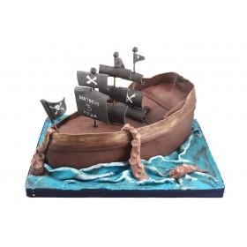 Торт Пиратский корабль