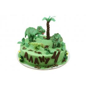 Торт с динозавриками