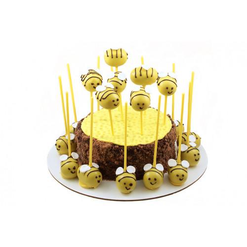 Торт с пчёлами