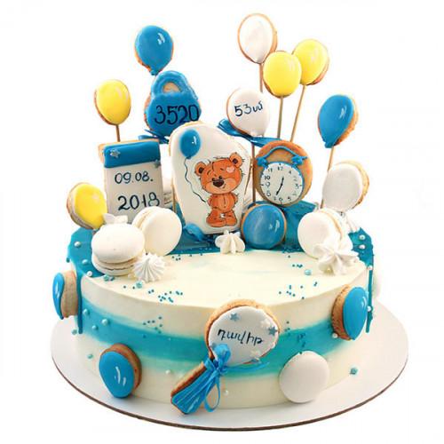 Торт с пряниками на рождение