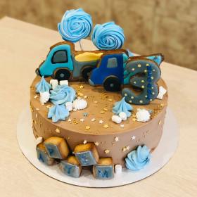 Торт с пряниками для малыша