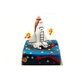 Торт ракета Шаттл