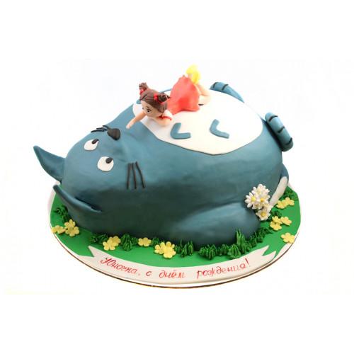 Детский торт Тоторо 3D