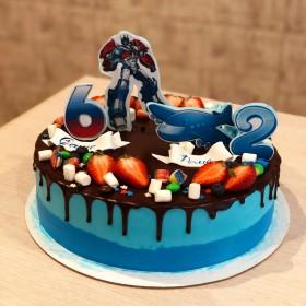 Торт на совместный День рождения