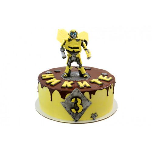 Детский торт бамблби