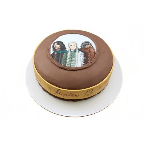 Детский торт властелин колец