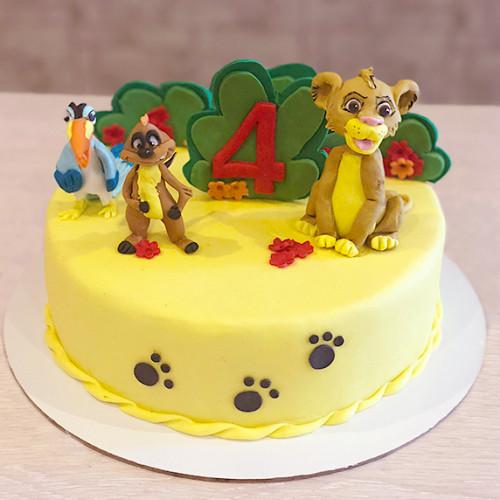 Торт Король Лев с друзьями