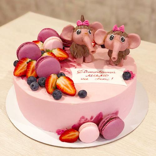 Торт Мама для мамонтенка