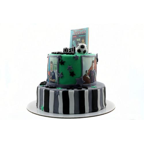 Торт для мальчика с фотопечатью
