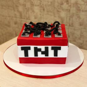 Торт Майнкрафт TNT