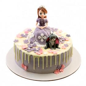 Торт с принцессой