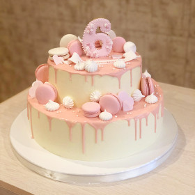 Торт на 6 Лет для девочки