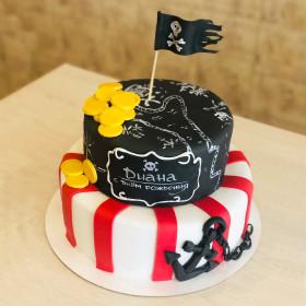 Пиратский торт
