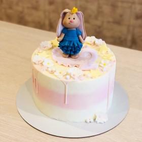 Торт с Зайкой