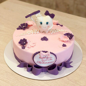 Торт Первый зубик
