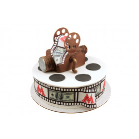Торт с Кинокамерой