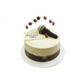 Торт с микрофоном