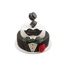 Торт смокинг