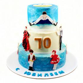 Торт на юбилей 70