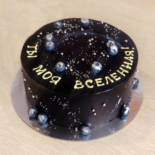 Торт с вселенной
