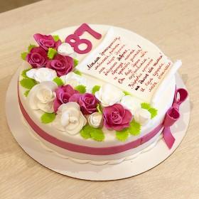 Торт на 87 Лет