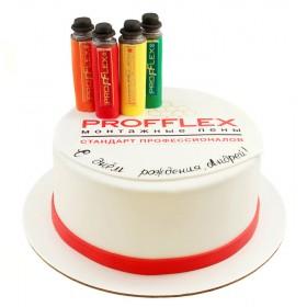 Корпоративный торт на День рождения