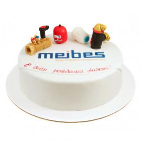 Торт на День рождение начальника