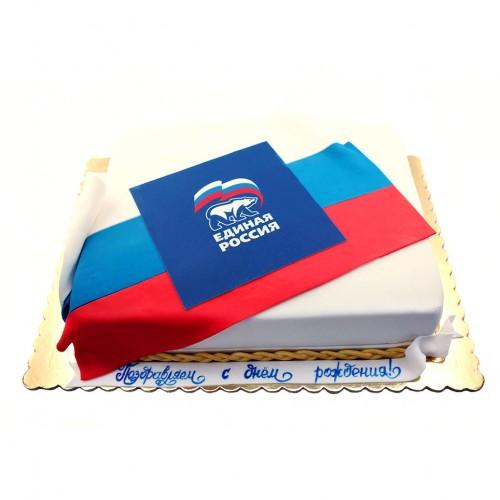 Торт Единая Россия с фотопечатью