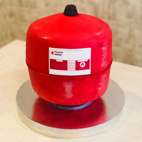 Корпоративный торт Газовый баллон