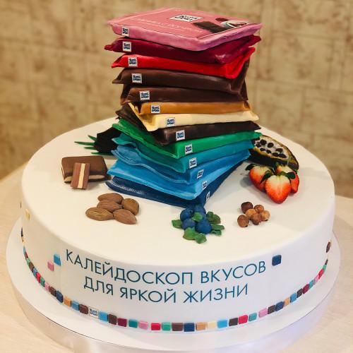 Корпоративный торт Ritter Sport