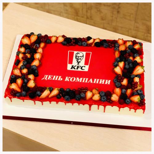 Корпоративный торт для KFC