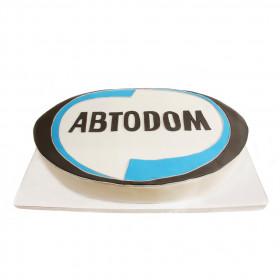 Корпоративный торт для АВТОДОМ