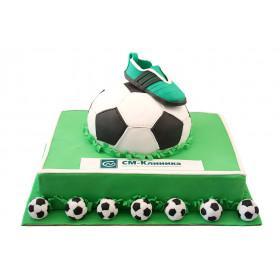 Торт на футбольный чемпионат