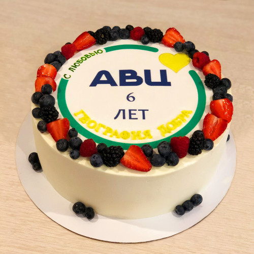 Корпоративный торт для АВЦ