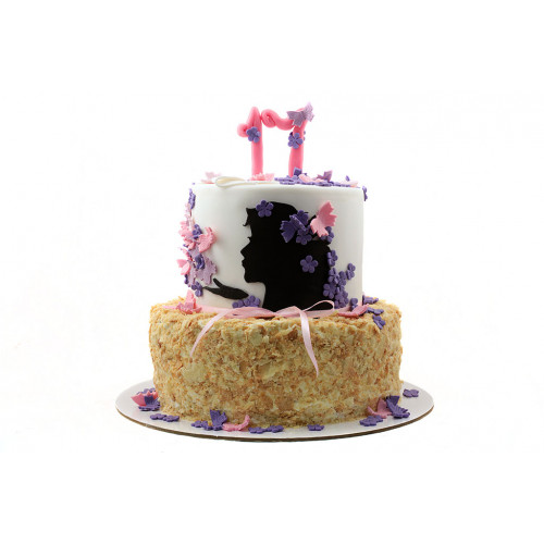 Торт для девушки Наполеон
