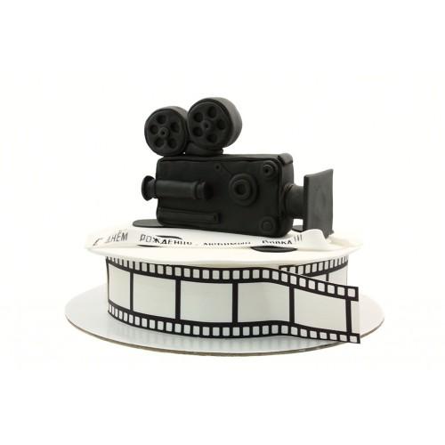 Торт с фотопечатью для Кинооператора
