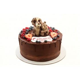 Торт для папы Лев