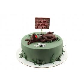 Торт для охотника Лось
