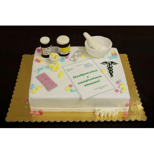 Корпоративный торт для аптеки