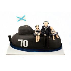 Торт для моряка Подводника
