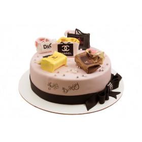 Торт с Сумочками