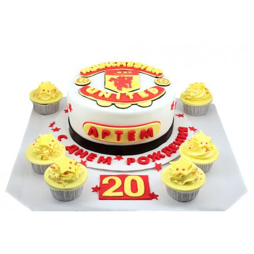 Торт для футболиста Манчестер Юнайтед
