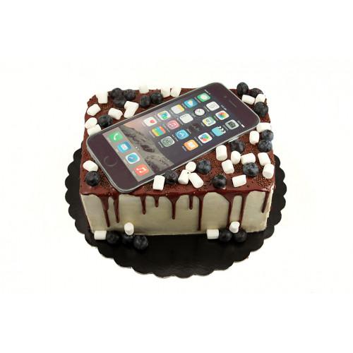 Торт Айфон с фотопечатью