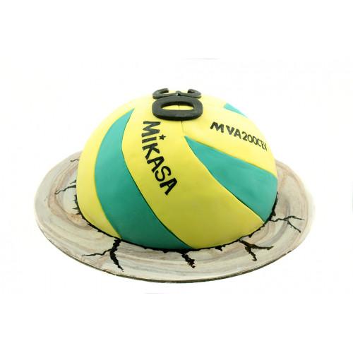 Торт волейбольный мяч