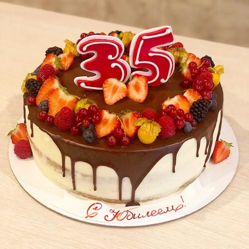 Торт на 35 Лет