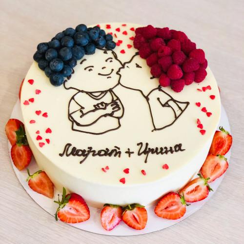 Торт для двоих